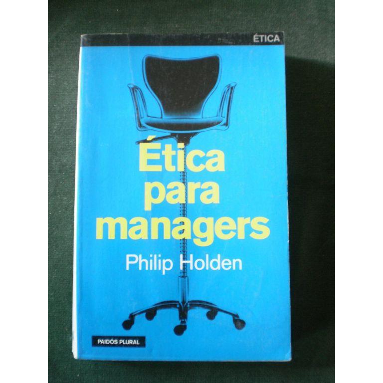 Etica para managers