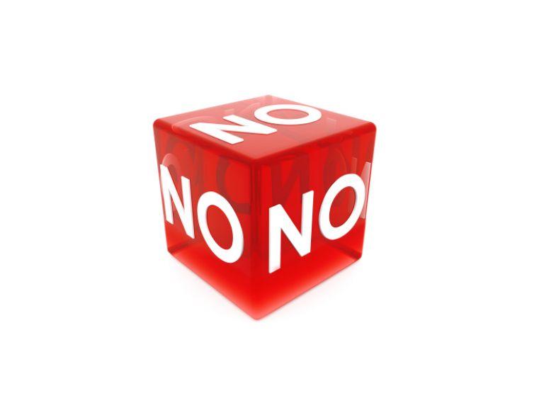¿Cuándo desistir si un cliente dice no?
