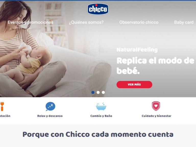 Tienda productos Chicco para bebés e infantes - Chicco