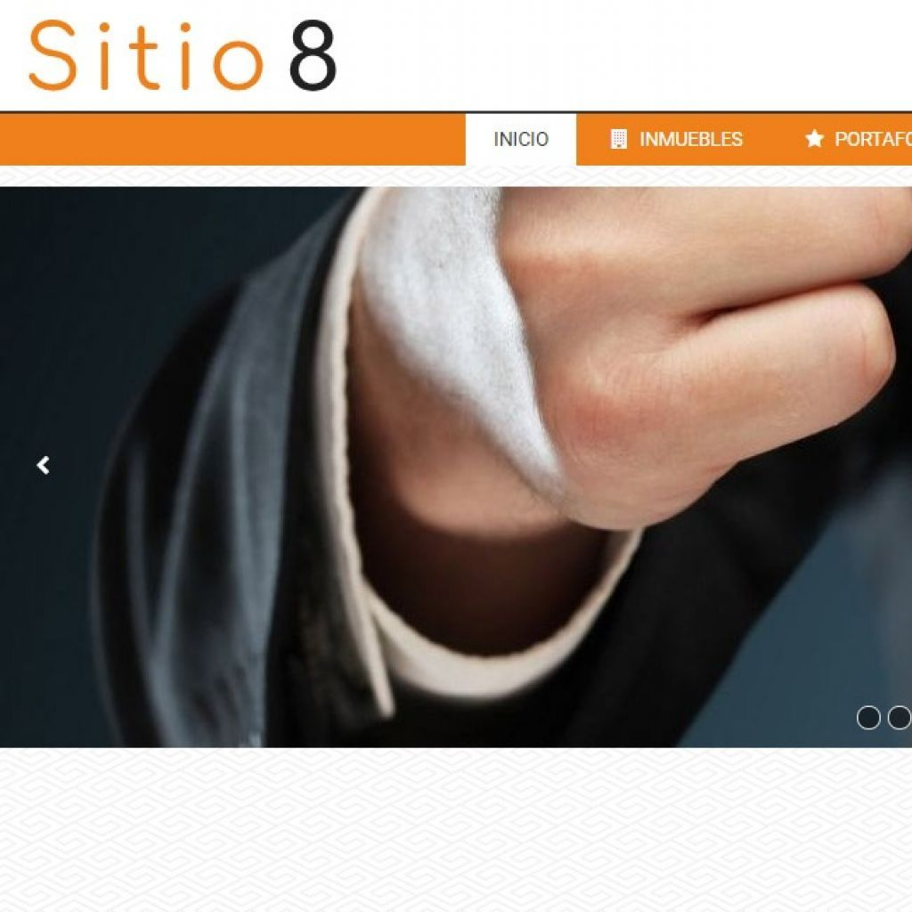 Demostración de sitio web para inmobiliaria demo 8.