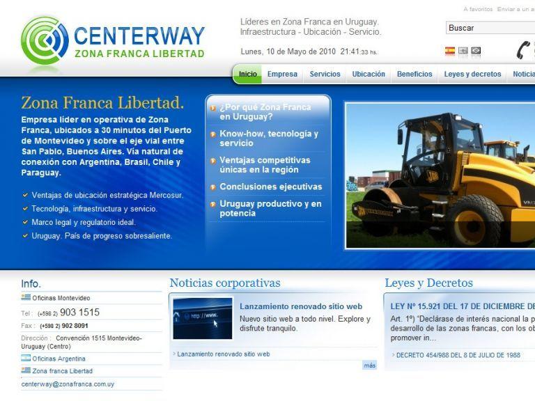 Expertos en servicios de Zona Franca - Centerway, Zona Franca