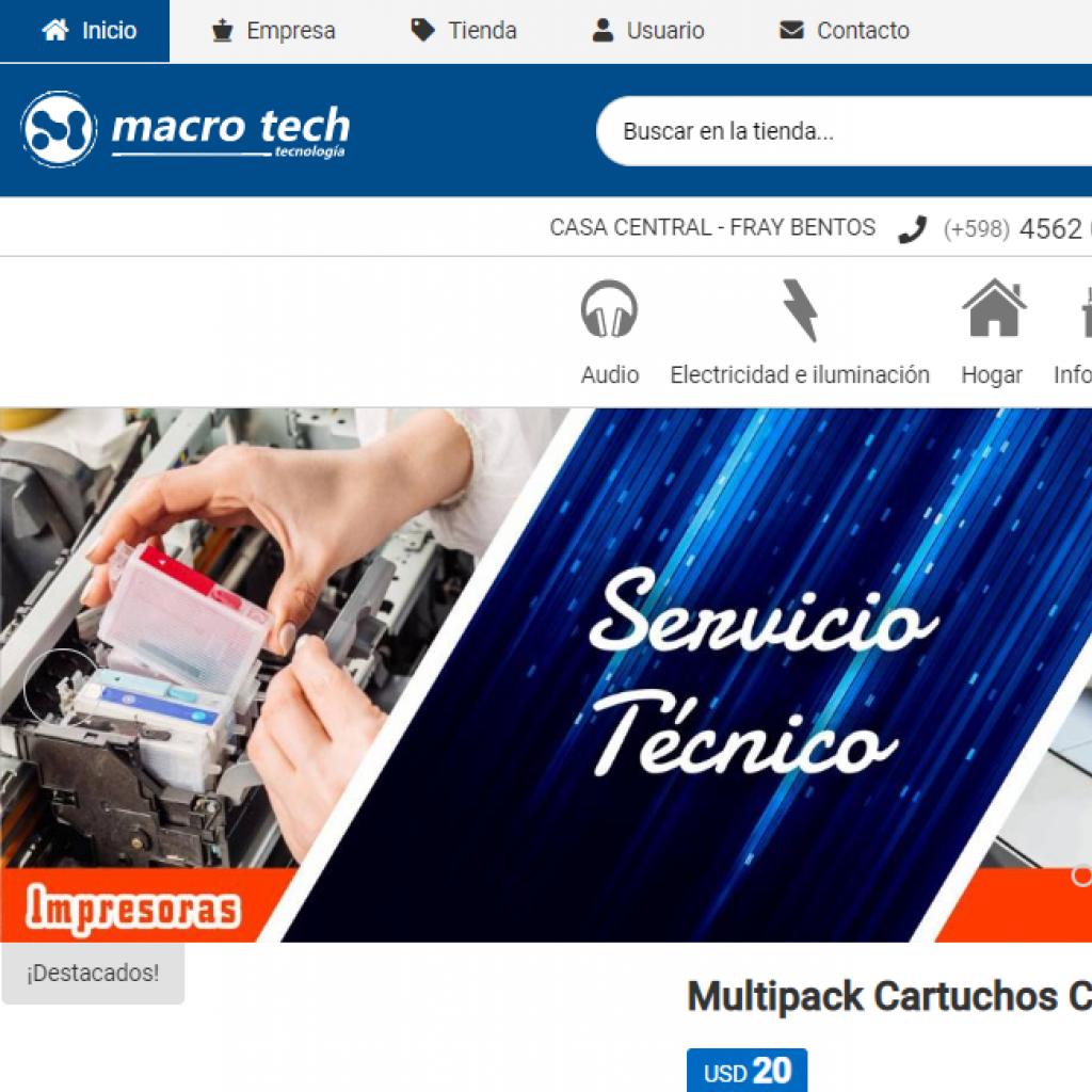 Macro Tech Tecnología e informática