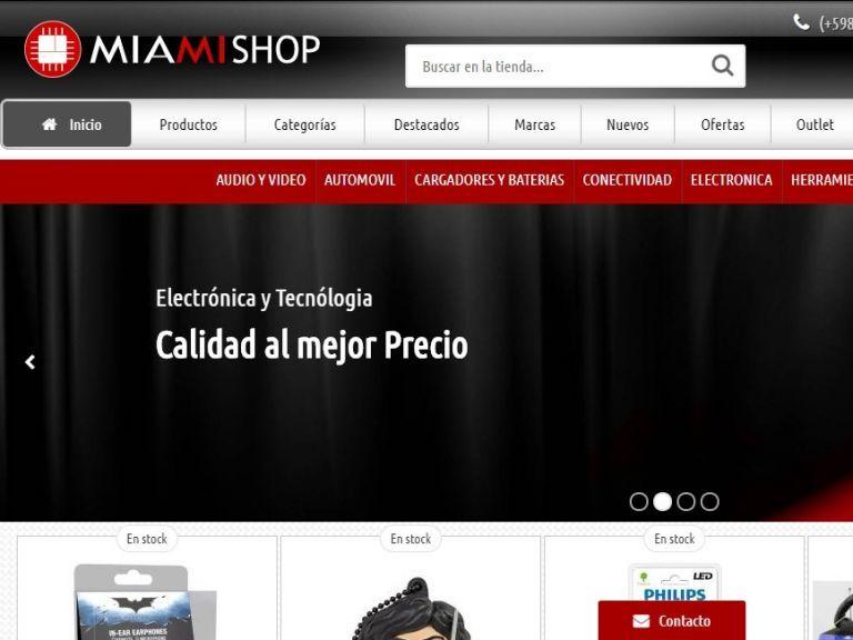 Tienda de Componentes Electrónicos - Miami Shop