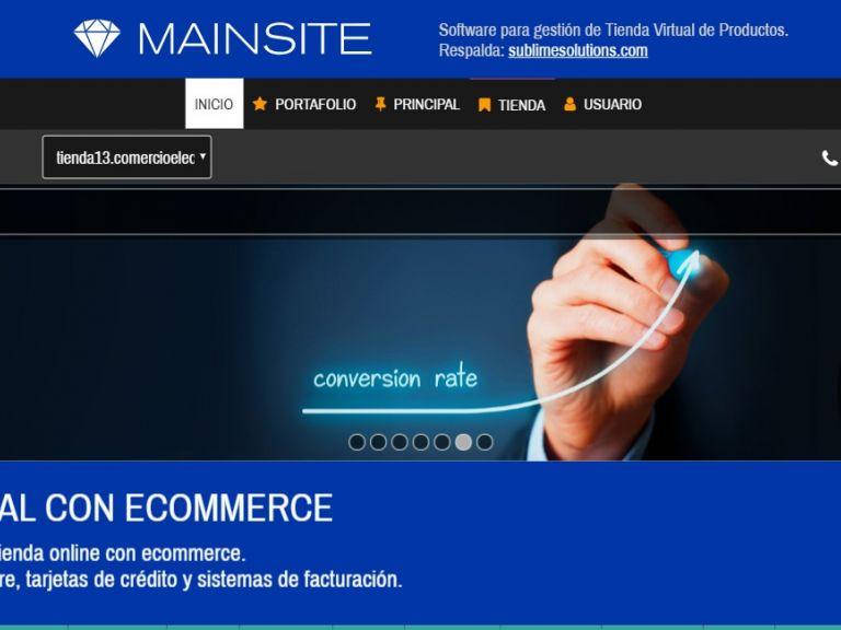 Tienda virtual online demo 13. - TIENDA 13 . tienda virtual